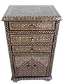 Tall Syrian Nightstand - MOP-CA008