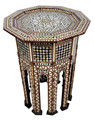 Syrian Design Inlaid Side Table - MOP-ST105