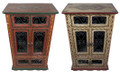Vintage Hand Painted Cabinets - HP-CA072