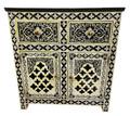 Moroccan Camel Bone Storage Cabinet - MB-CA057