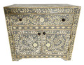 Moroccan Camel Bone Storage Cabinet - MB-CA060