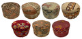 Handmade Round Kilim Pouf - FP038