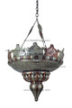 Two Tone Metal Chandelier CH026