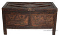 Carved Wood Trunk CW-T002