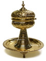 Gold Incense Burner HD003