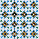 This pattern is created by the combination of many CT003 tile design.