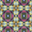 This pattern is created by the combination of many CT017 tile design.