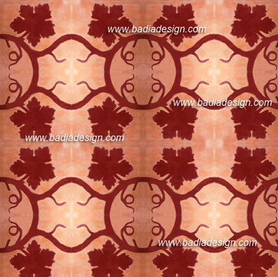 This pattern is created by the combination of many CT023 tile design.