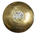 Brass Round Wall Sconce WL006