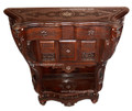 Mother of Pearl Inlay Handcrafted Console - MOP-CO002