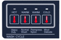 NewButton™ Overlay Repair  DXTRW-BC QF for Dexter Washers