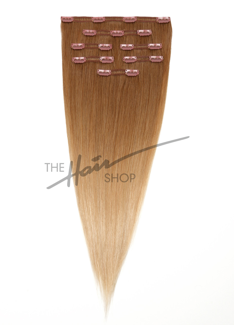 7 Piece Clip In Straight 18 Ombre 205 The Hair Shop Inc