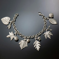 American Charm Leaf & Seed Bracelet