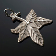 Sweetgum Leaf Charm