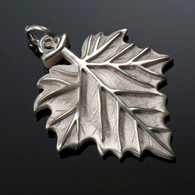 Sycamore Leaf Charm