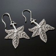 Sweetgum Leaf Earrings