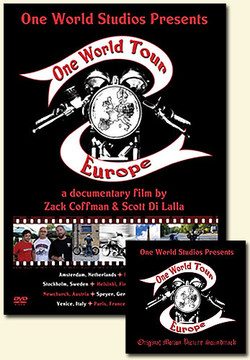 The One World Tour: Europe! (motorcycle DVD & BONUS CD)