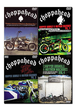 Choppahead Super Combo!  (Vols 1, 2, 3, 4)