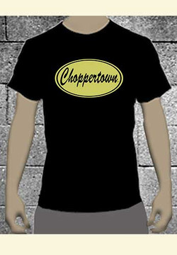 Vintage' Choppertown Men's Motorcycle T-shirt