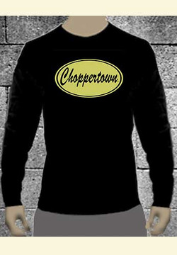 Vintage' Choppertown Long-sleeve Motorcycle Tee