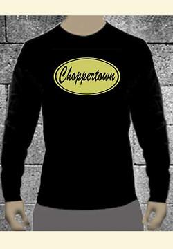 Vintage' Choppertown Long-sleeve Motorcycle Tee