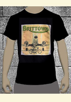 Full Color 'Brittown' Men's Motorcycle T-shirt *Limited!*