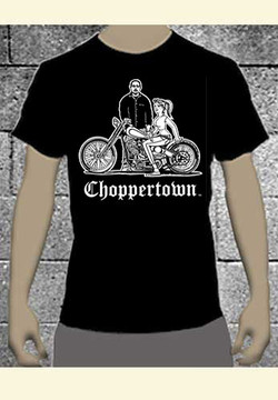 Bosse Jensen Original Choppertown Biker T-shirt
