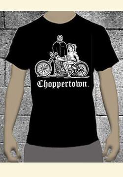 Bosse Jensen Original Choppertown Biker T-shirt