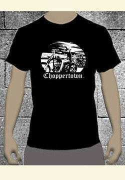 Choppertown ''Out for a Ride'' Men's Motorcycle T-shirt