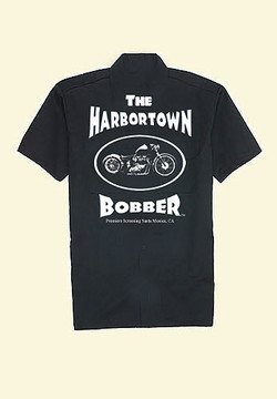 Harbortown Bobber Dickies 1574 Short Sleeve Work Shirt (black)