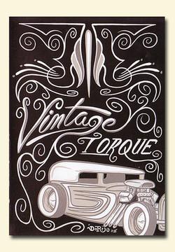 Vintage Torque Issue #2 (hot rod DVD)