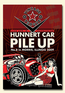 The Hunnert Car Pile Up 2009 (hot rod DVD)