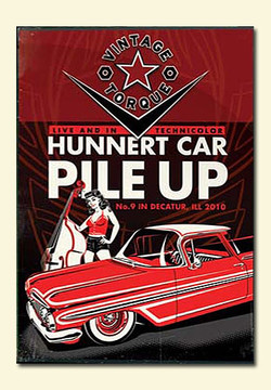 Hunnert Car Pile Up 2010 (hot rod DVD)