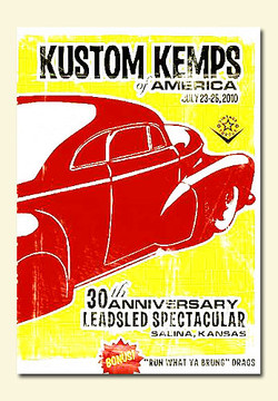 Kustom Kemps of America KKOA 2010 (hot rod DVD)