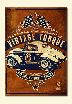Vintage Torque Issue #6 (hot rod DVD)