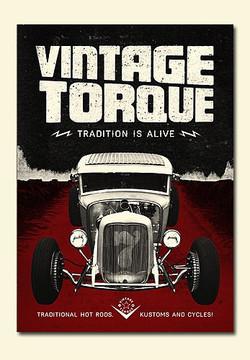 Vintage Torque Issue #7 (hot rod DVD)