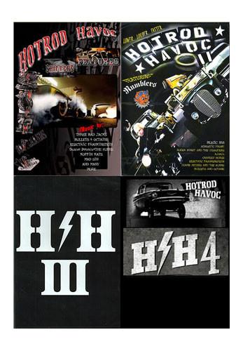 Hot Rod Havoc Vol 1-4 Bundle