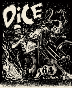 Dice Digital Issue 64 Cover - Art by Ryan Quickfall