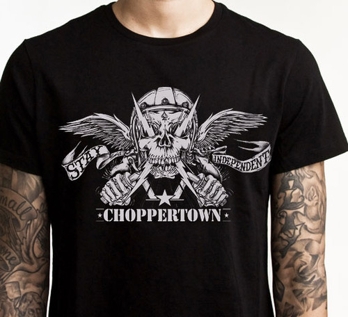 Choppertown Stay Independent Tshirt