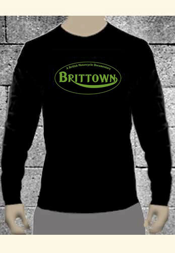 Brittown Long-sleeve Motorcycle Tee