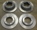 Porsche 356 Front & Rear Slotted Brake Rotors