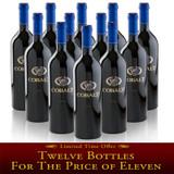 2014 Cobalt Cabernet 12 Bottle Special