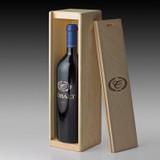 2017 Cobalt Cabernet Sauvignon - single bottle wood crate