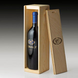 2012 Cobalt Cabernet Sauvignon - single bottle wood crate
