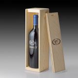 2013 Cobalt Cabernet Sauvignon - single bottle wood crate