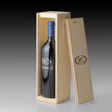 2013 Cobalt Cabernet Sauvignon - single bottle wood crate
