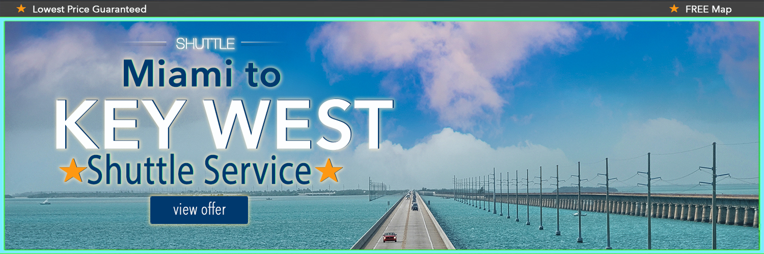 Miami to Key West Shuttle | Bus to Key West | $24 on