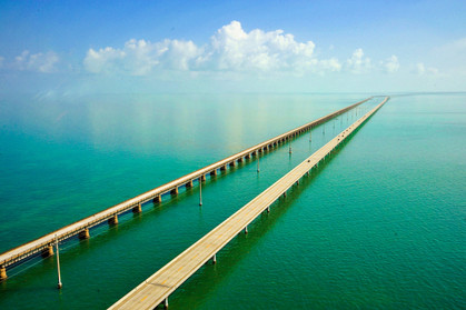7 Mile Bridge on the way to Key West.