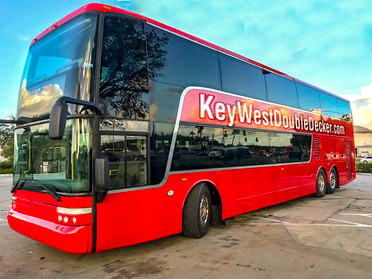 Key West to Miami by Double Decker Bus