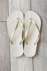 Ipanema Ana Flip Flops - Beige/Gold
